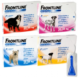 FRONTLINE COMBO SPOT ON PERROS 2-10Kg 3 PIPETAS.