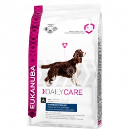 EUKANUBA DAILY CARE OVERWEIGHT / STERILIZED