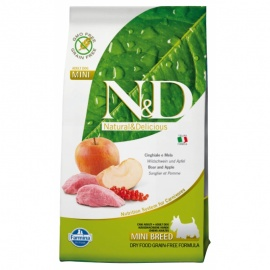 N&D G. FREE ADULT DOG JABALÍ & MANZANA 12kg