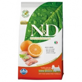 N&D G. FREE ADULT DOG PESCADO & NARANJA