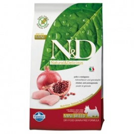 N&D G. FREE ADULT DOG POLLO & GRANADA