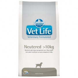 VET LIFE DOG NEUTERED +10 KG