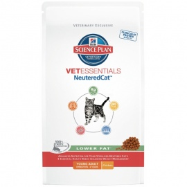 SP VETESSENTIALS FELINE ADULT NEUTEREDCAT 3 KG