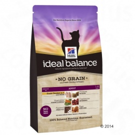 HILL´S IB FELINE ADULT NO GRAIN POLLO Y PATATA 2Kg
