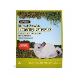 PIENSO NATURAL ZUPREEM PARA CHINCHILLAS