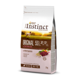 TRUE INSTINCT ORIGINAL CORDERO CON AVENA MINI – ADULT