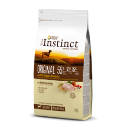 TRUE INSTINCT ORIGINAL POLLO CON ARROZ INTEGRAL MEDIUM/MAXI – ADULT