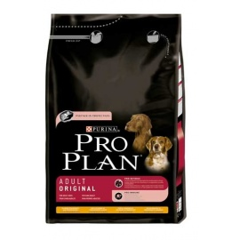 PRO PLAN ADULTO ORIGINAL POLLO Y ARROZ 3KG