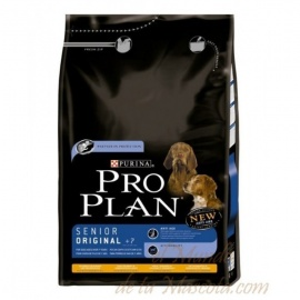 PRO PLAN SENIOR ORIGINAL 7+ POLLO Y ARROZ 3KG